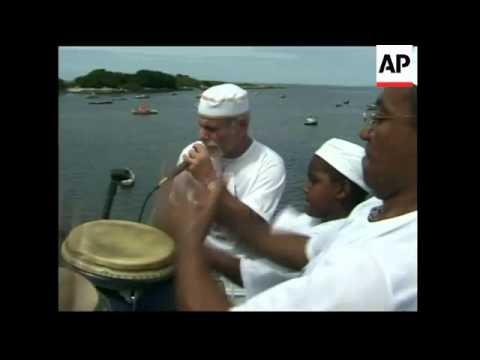 Afro Brazilian religions flourish across Brazil