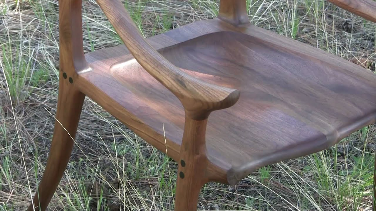 Building a Maloof Inspired Low-back Chair