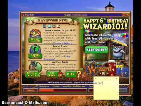 how to play wizard101 for free
