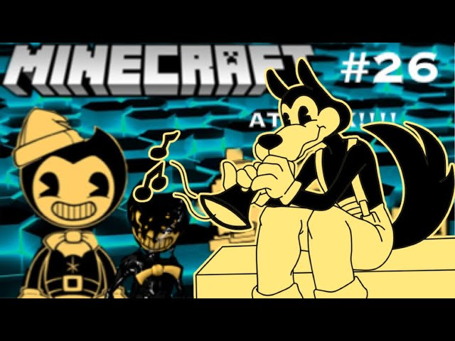 The Butcher Gang Teams Up with Bendy!? - BendyPlayz Minecraft PE [26]