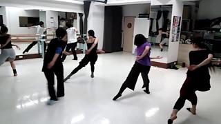【Contemporary Dance】レッスンコンビネーション @DanceSquare代官山