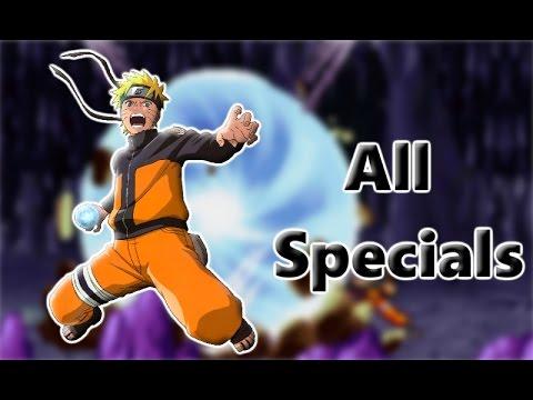 Bleach Vs Naruto 2.6 | All Special Attacks