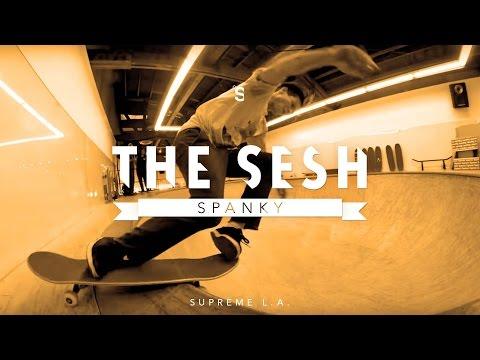 The Sesh: Kevin 'Spanky' Long at Supreme L.A.