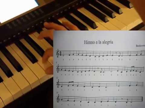 como tocar el himno a la alegría en piano (lección #3)