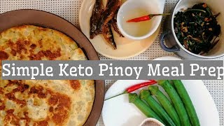 Simple and Affordable Keto Low Carb Diet Meal Prep Philippines