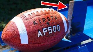 FOOTBALL VS KINETIC SPLITTER (EXPERIMENT)
