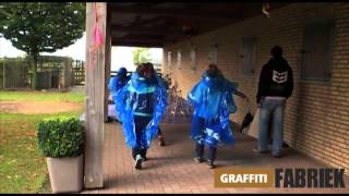 graffiti-fabriek - workshop graffitifeestje