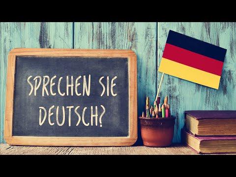 немецкий язык для начинающих знакомство