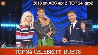 "Amelia Harris and Bebe Rexha Duet ""Me Myself and I"" Top 24 Celebrity Duets American Idol 2018"