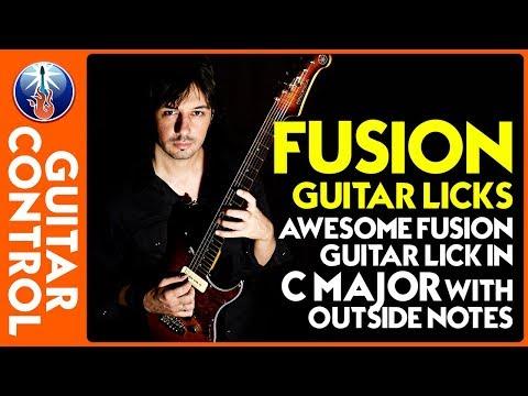 Killer Fusion Lick in the key of C - Fusion Guitar Lesson