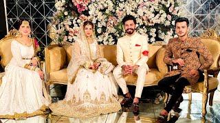 Dr Madiha Khan And MJ Ahsan Nikkah Ceremony ( Mubarakan )   Zulqarnain Sikandar   Kanwal Aftab  Vlog