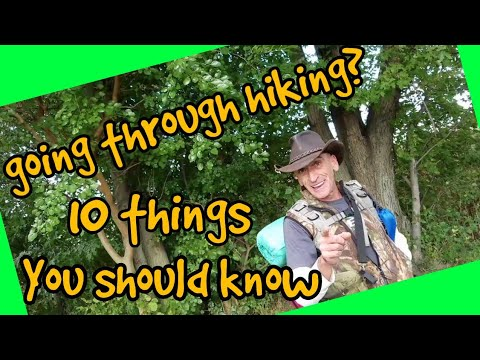 10 things you need to know before your first thru-hike Adventure