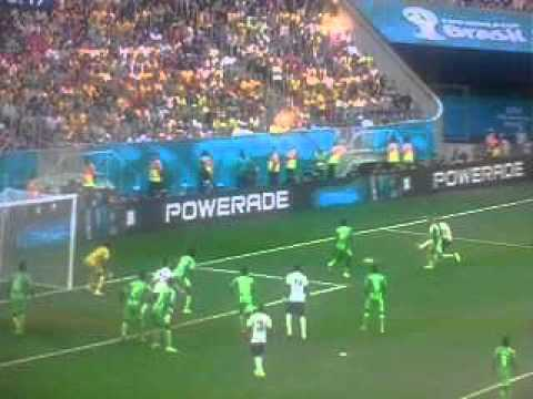 France Vs. Nigeria World Cup Highlights: Estadio Nacional, Brasilia