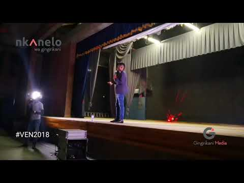Chavi CMC on stage at VEN2018 |V. Engineering Comedy Night |