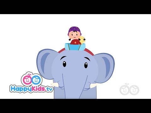 Ellie The Elephant & Many More Popular Singalongs I HappyRhymes Collection | Happy Kids