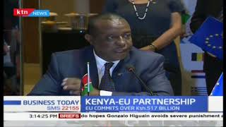 Kenya- European Partnership: EU commits over Sh.517 billion for infrastructure development