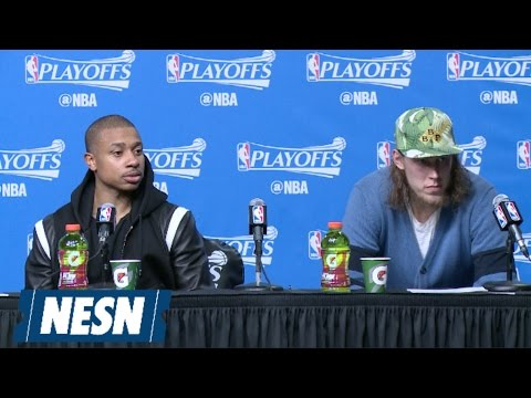 Isaiah Thomas, Kelly Olynyk Full Press Conference After Game 7 Win