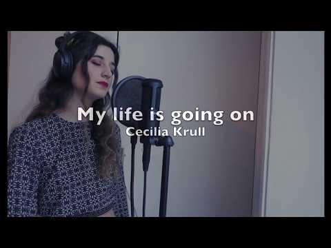 My life is going on - Cecilia Krull - The Heist  Ambre Cover