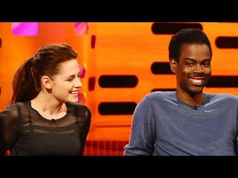 "KRISTEN STEWART & CHRIS ROCK: ""She bit me last week!"" (The Graham Norton Show)"