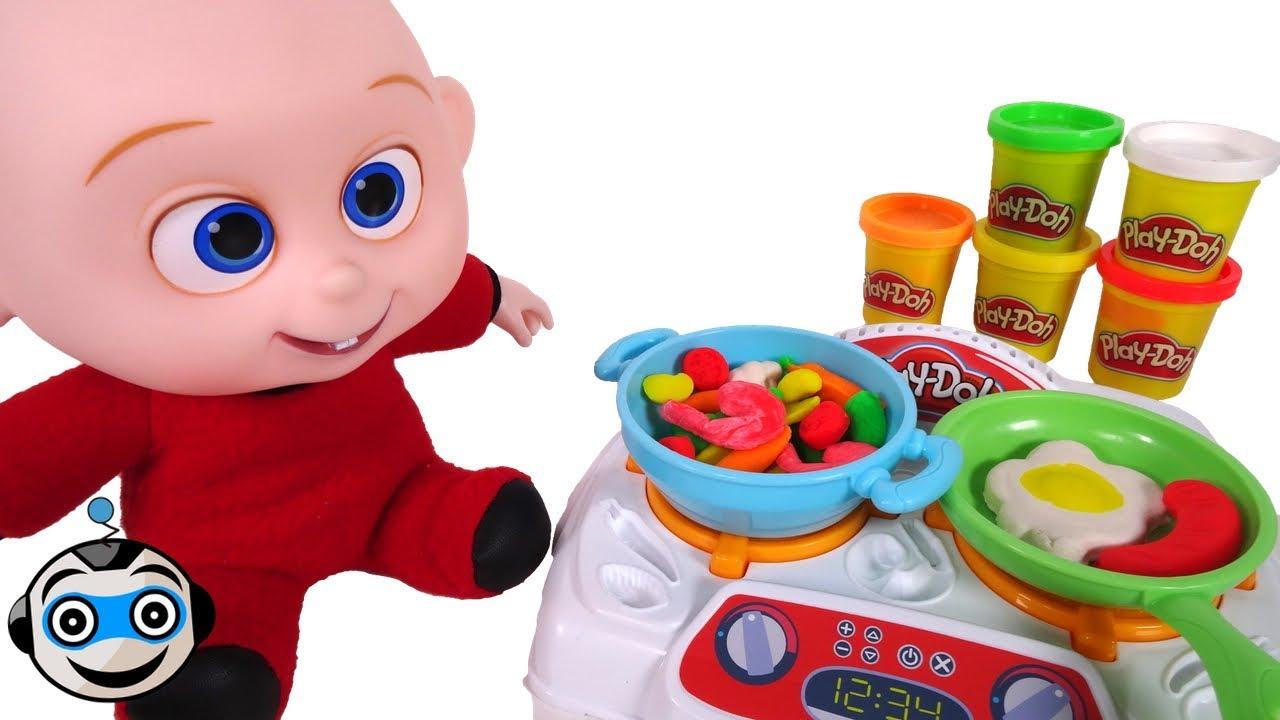 Tu cocina divertida de play doh youtube - Cocina play doh ...