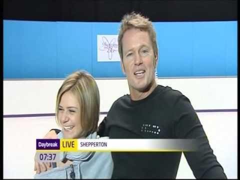 Craig McLachlan and Maria Filippov on Daybreak 14 1 11