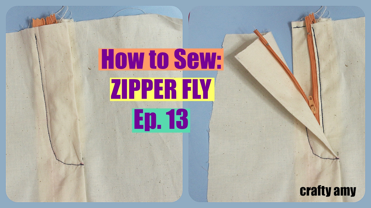 a1b5dccec8795 How to Sew  Zipper Fly