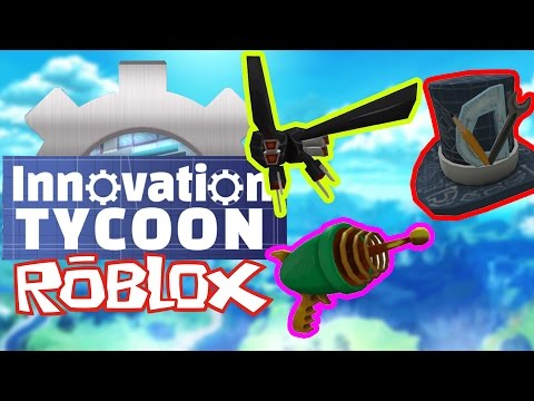 DARMOWE ITEMY W ROBLOX DO 21 MARCA - EVENT - INNOVATION TYCOON