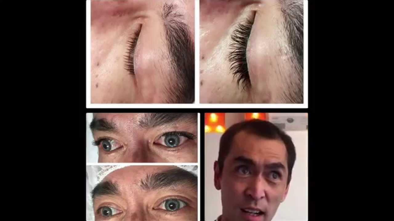 Eyelash Extensions For Men Youtube