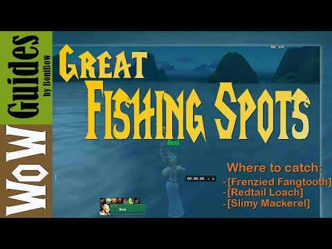 Where To Find Good Fishing Spots In Bfa (2019)