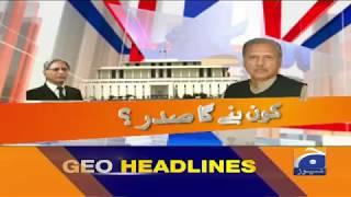 Geo Headlines - 08 PM - 03 September 2018