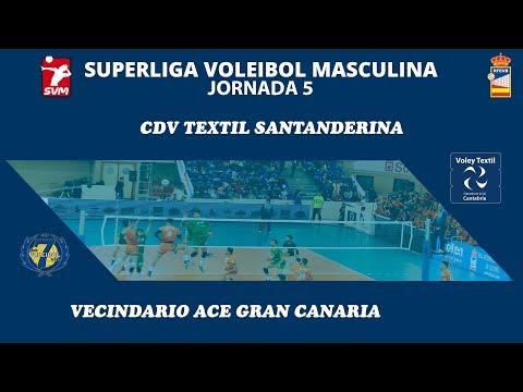 Voley Textil Santanderina vs Vecindario ACE Gran Canaria