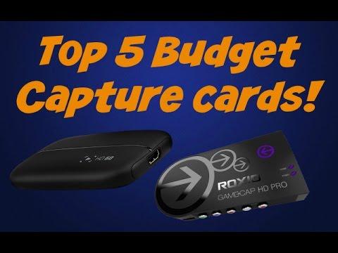 Top 5 Budget Capture cards!