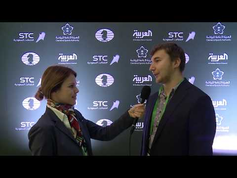 Interview with GM Sergey Karjakin, Russia
