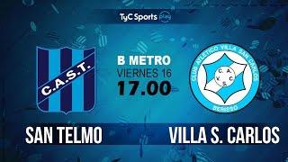San Telmo vs Villa San Carlos full match