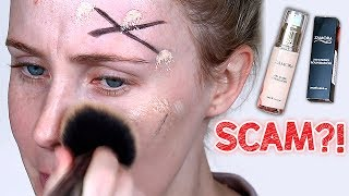SCAM OR SUCCESS?! Viral Sharpie Foundation Video TESTED! | Lauren Curtis