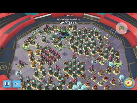 Boom Beach - Mega Turtle - Stage 52 solo and 53+54 - Highscore German #1