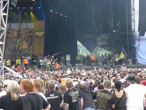 Five fingers death punch - Dying Breed live@Download festival 2010