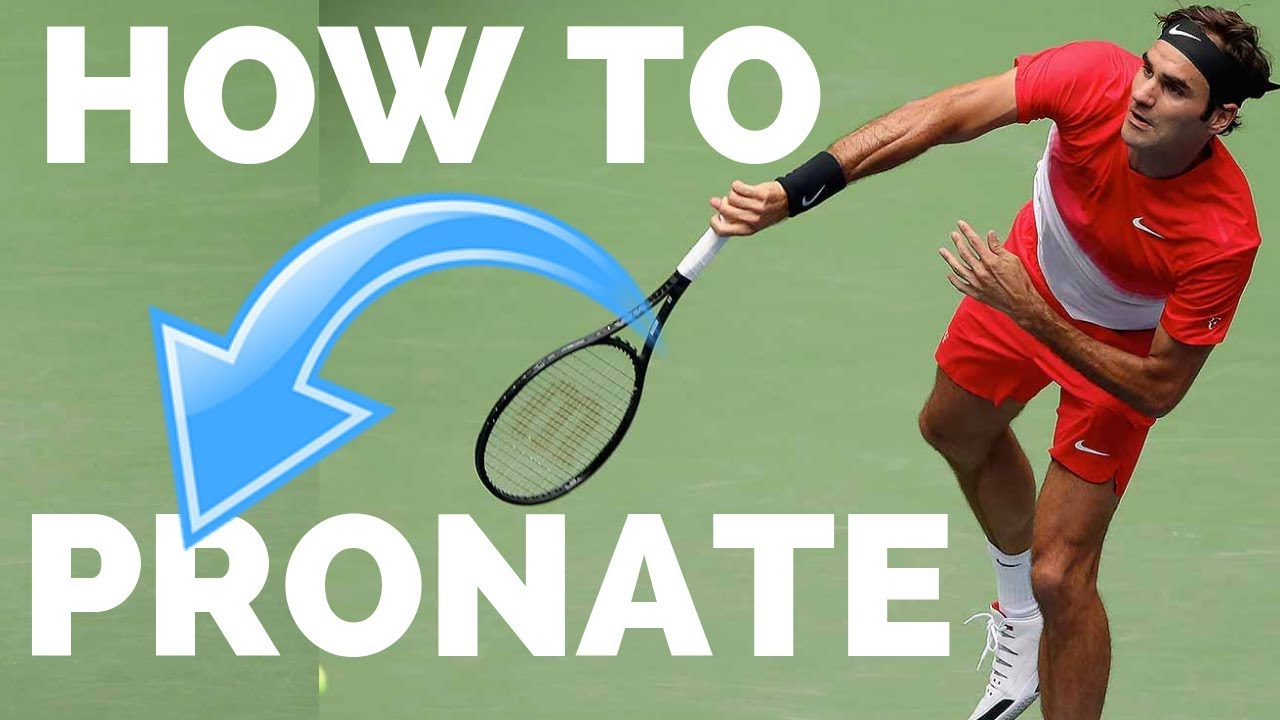 How To Pronate on Your Tennis Serve - Tennis Serve Pronation