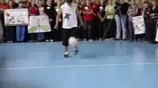 Выступление Фристайл с мячем www.mdfreestyle.com
