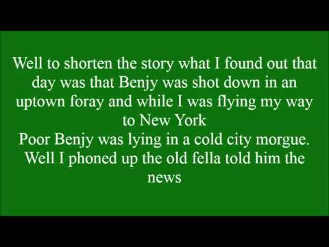 Streets of New York with lyrics