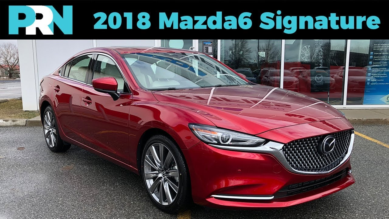 suede leather galore 2018 mazda6 signature testdrive snapshot youtube. Black Bedroom Furniture Sets. Home Design Ideas