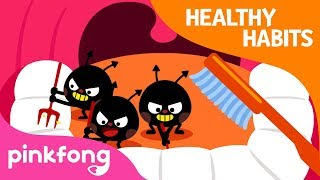 Brush Your Teeth | Tooth Brush Song | Healthy Habits | Pinkfong Songs for Children