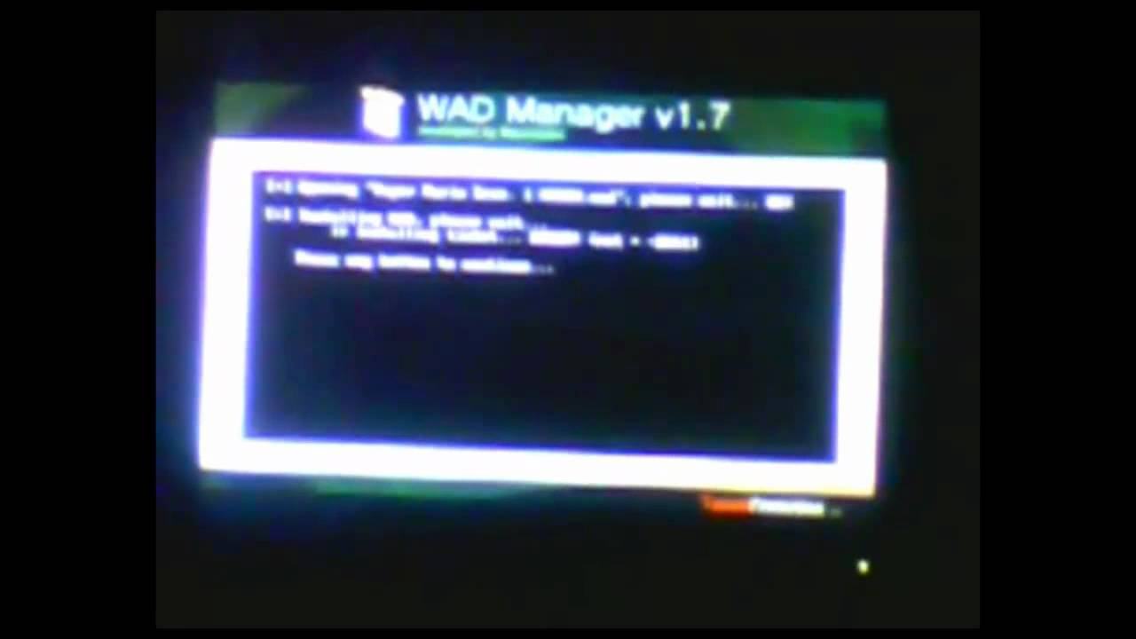 wad manager 1.5 multimod