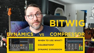Dynamic Expansion Explained - Bitwig Dynamics vs Compressor