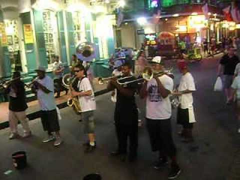 New Creations Brass Band--Bourbon St. & Orleans Ave. Night Hustle Spot