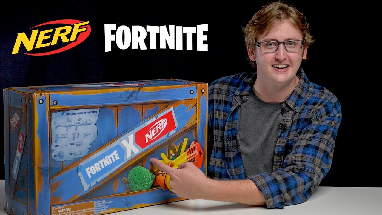 Download [UNBOXING] Nerf Fortnite Supply Drop