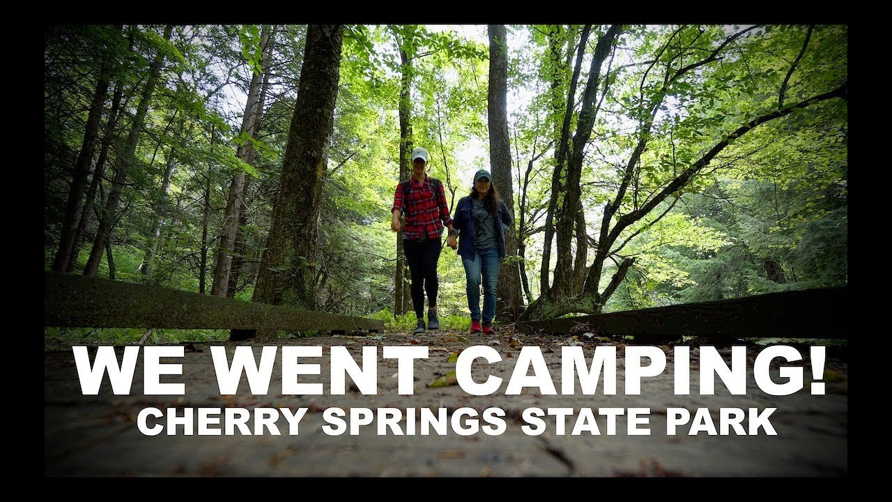 We went camping! Cherry Springs State Park Natural Dark Sky Reserve |  FUNBUNONTHERUN Travel Vlog