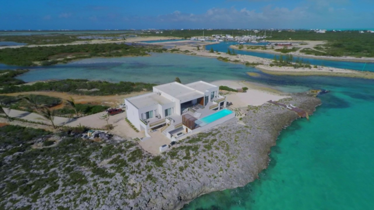 turks and caicos luxury villa - tip of the tail. - youtube