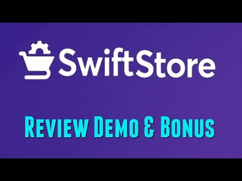 Swift Store Review Demo Bonus - Affiliate Store With Sales Proof Tech + No Hosting + No Domain. http://bit.ly/2PiEPfG