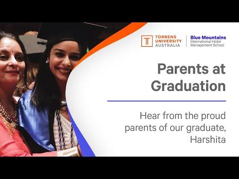 Parents at graduation - India